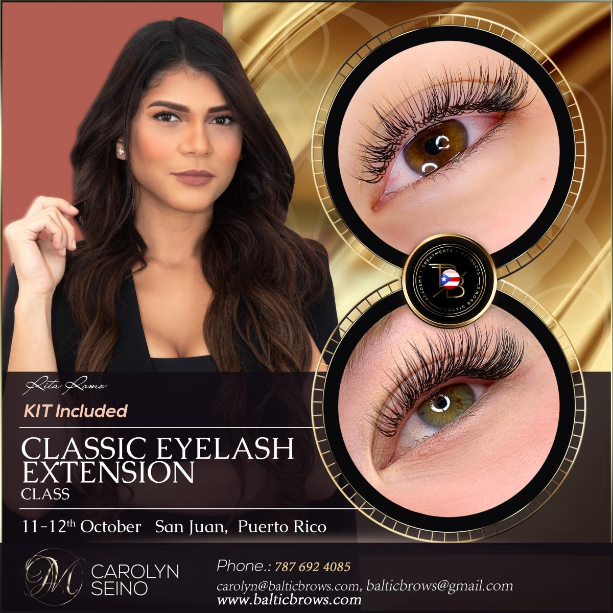 Classic eyelash extension basic