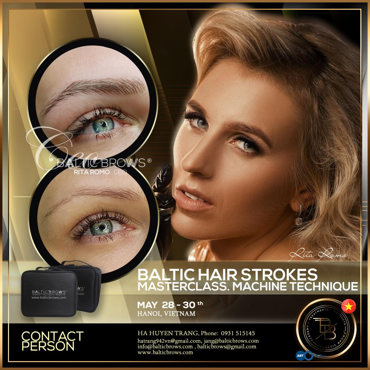 Machine hair strokes masterclass