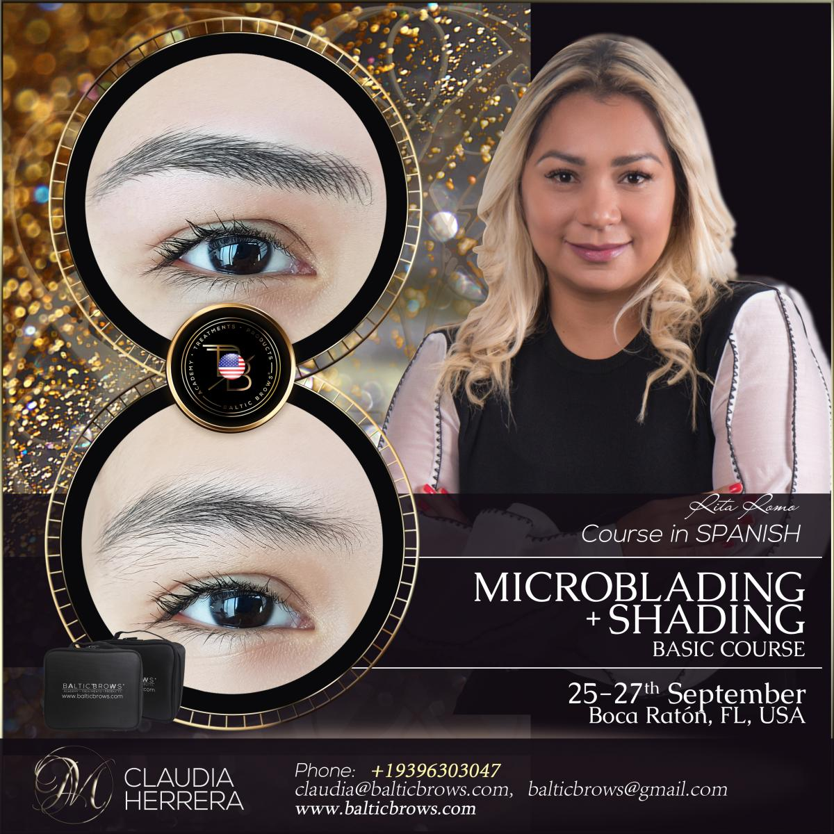 Microblading and shading basic class