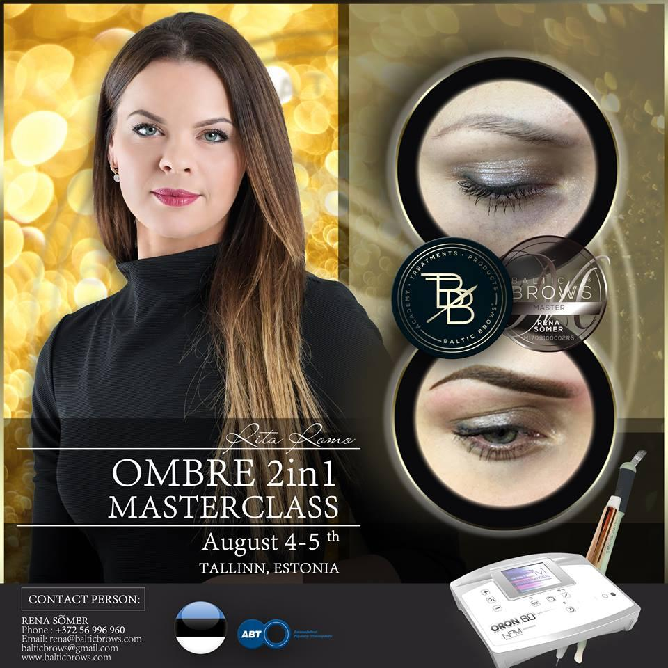Ombre brows 2in1
