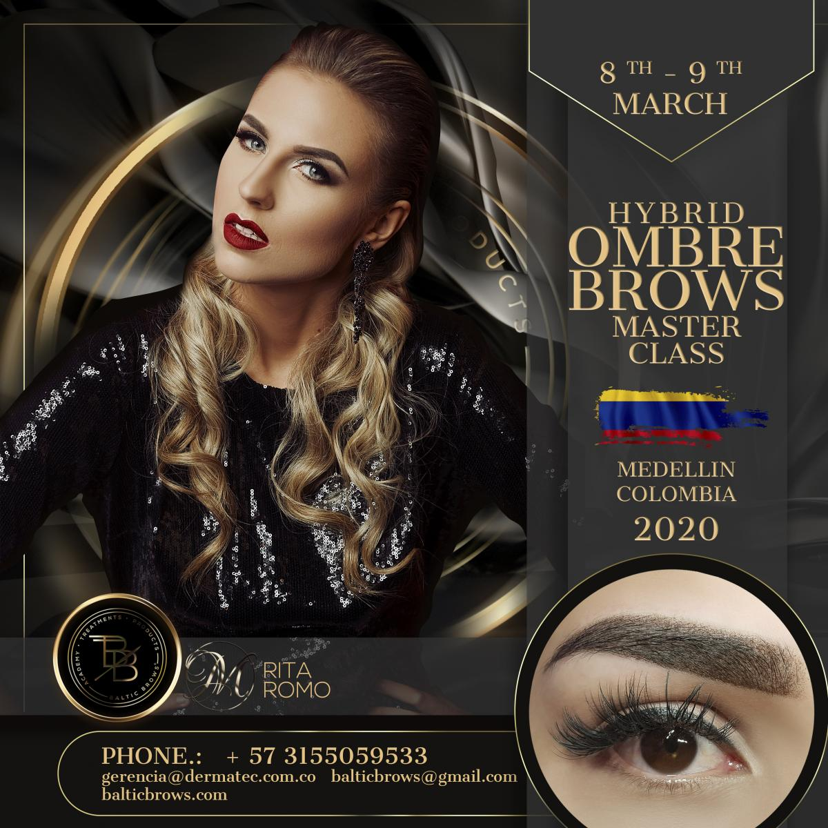Ombre brows and strokes masterclass
