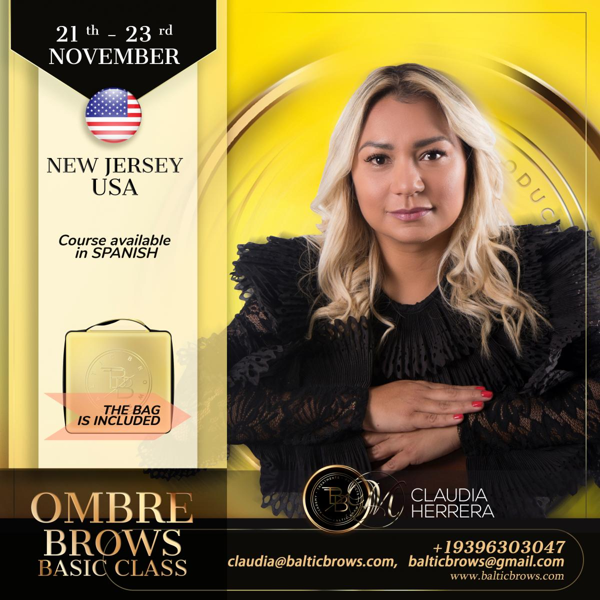 Ombre brows machine basic