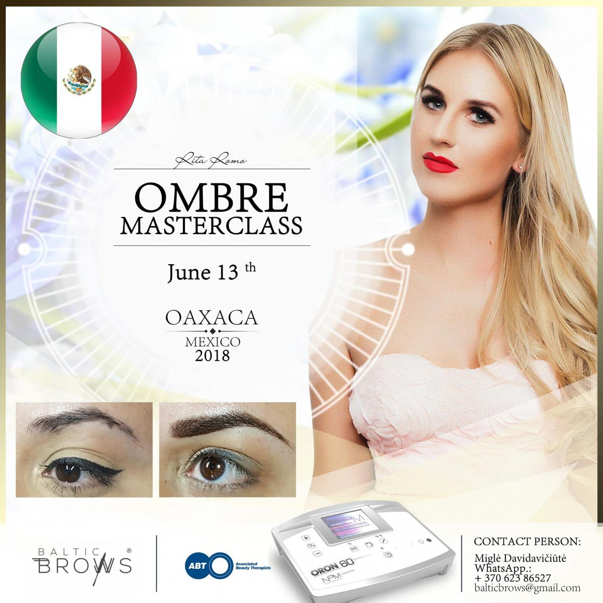 Ombre brows machine