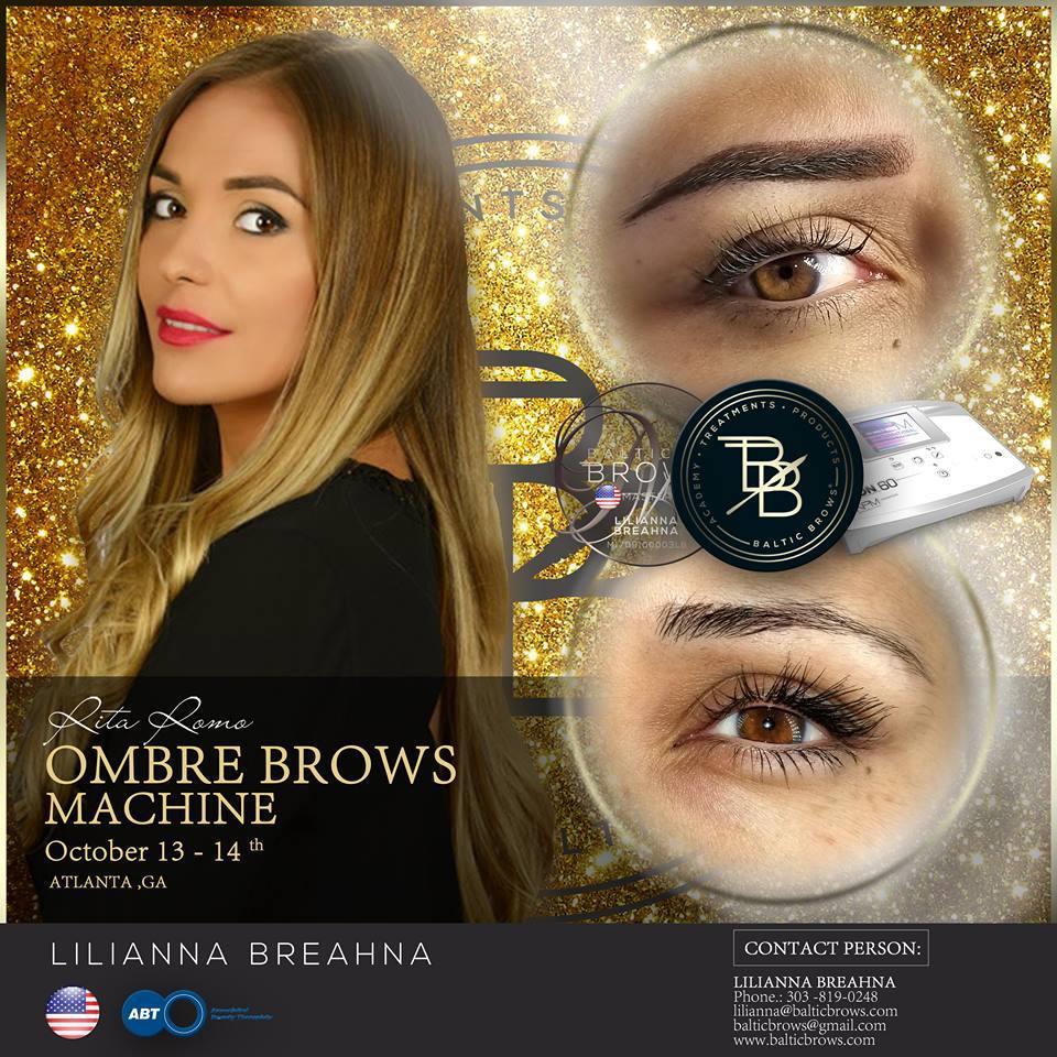 Ombre brows machine