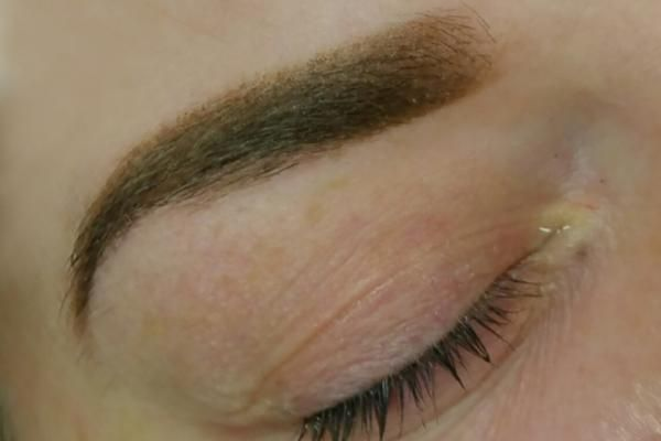 Ombre brows manual+machine