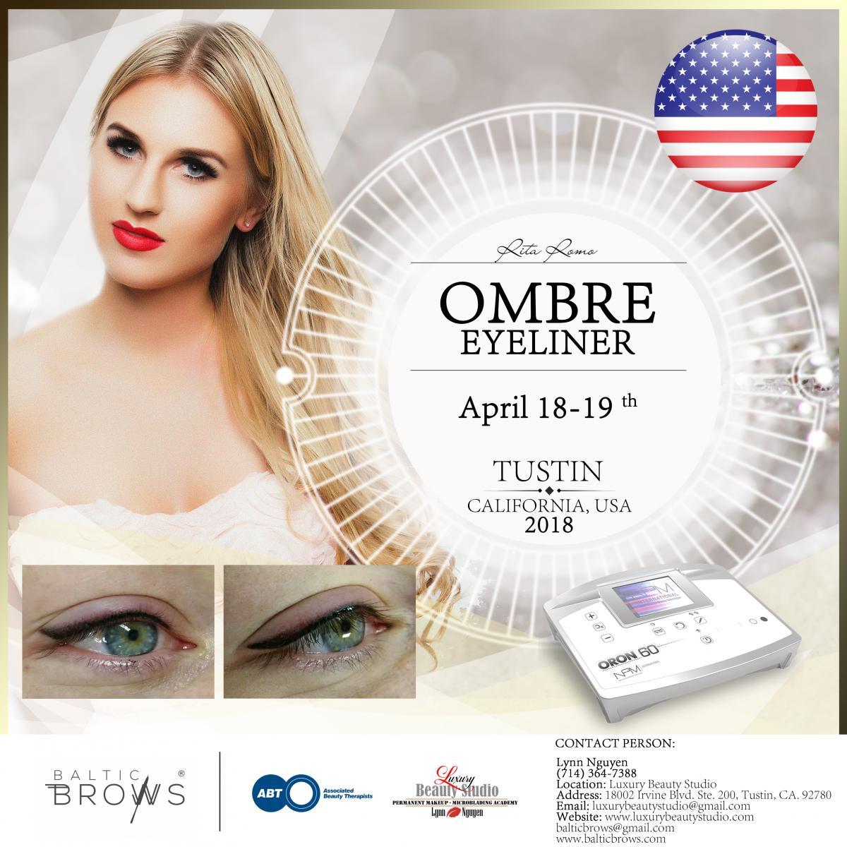 Ombre eyeliner machine