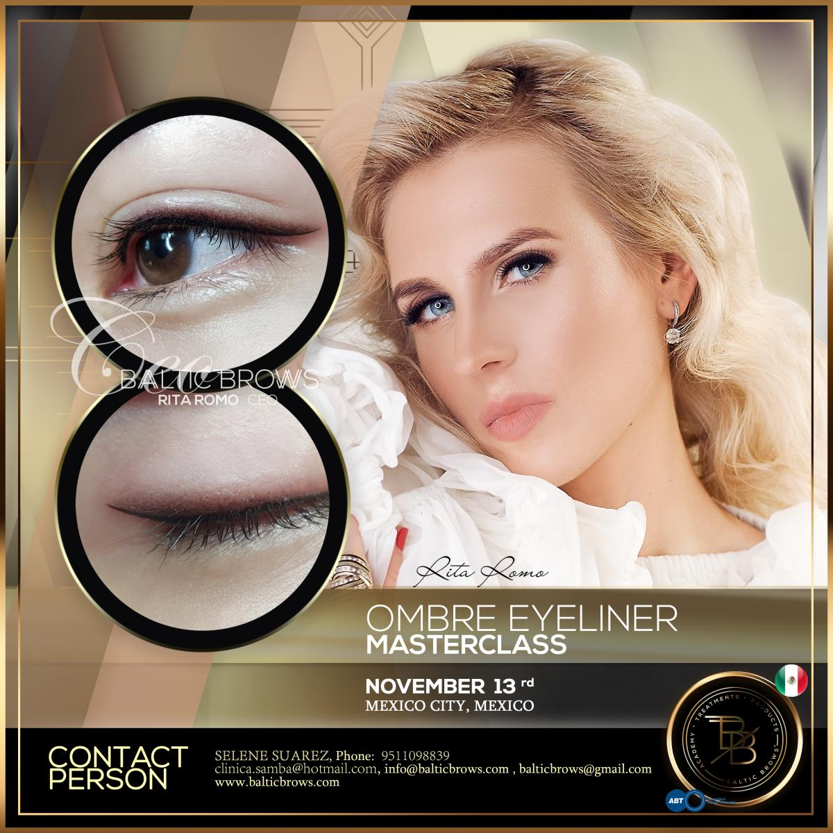 Ombre eyeliner masterclass
