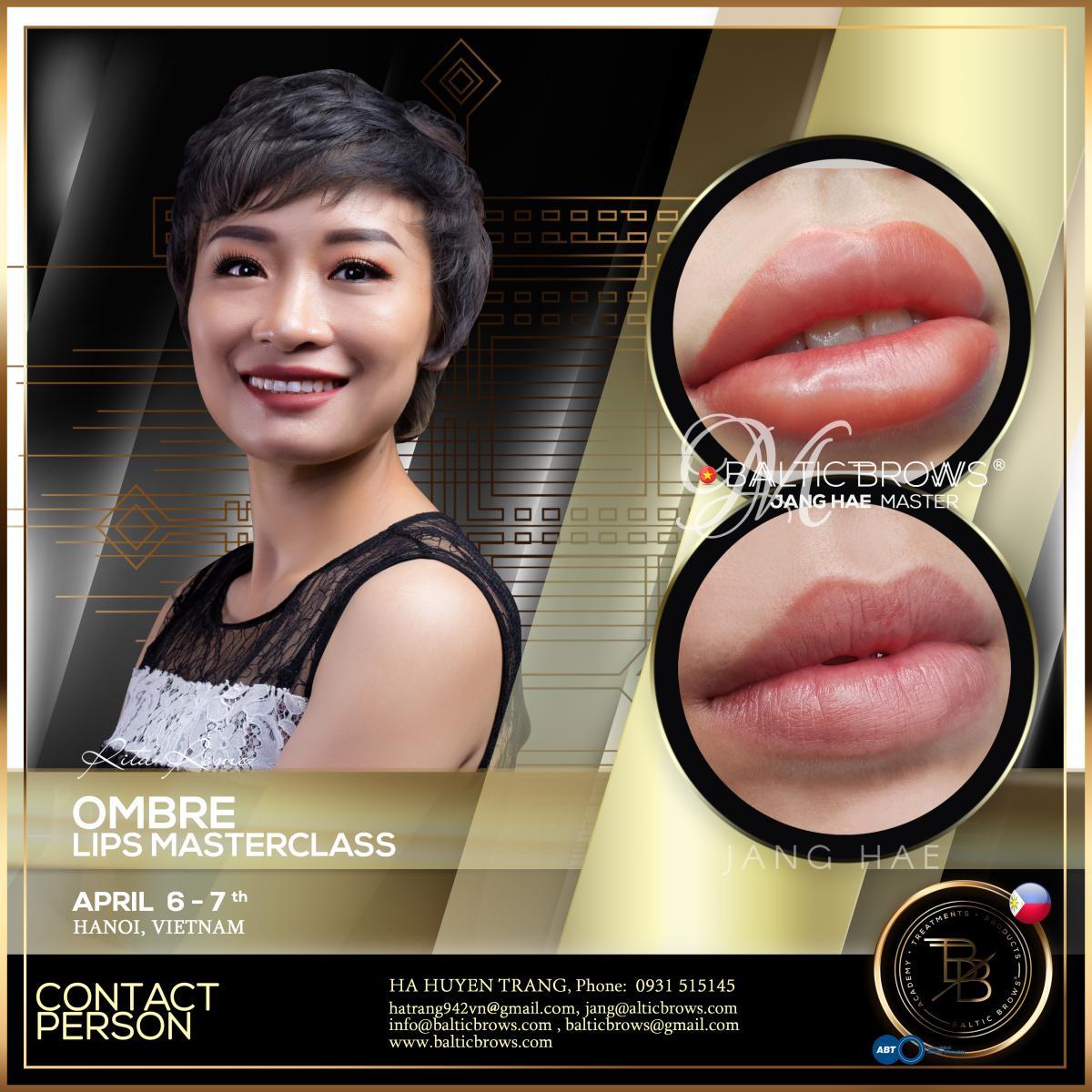 Ombre lips masterclass