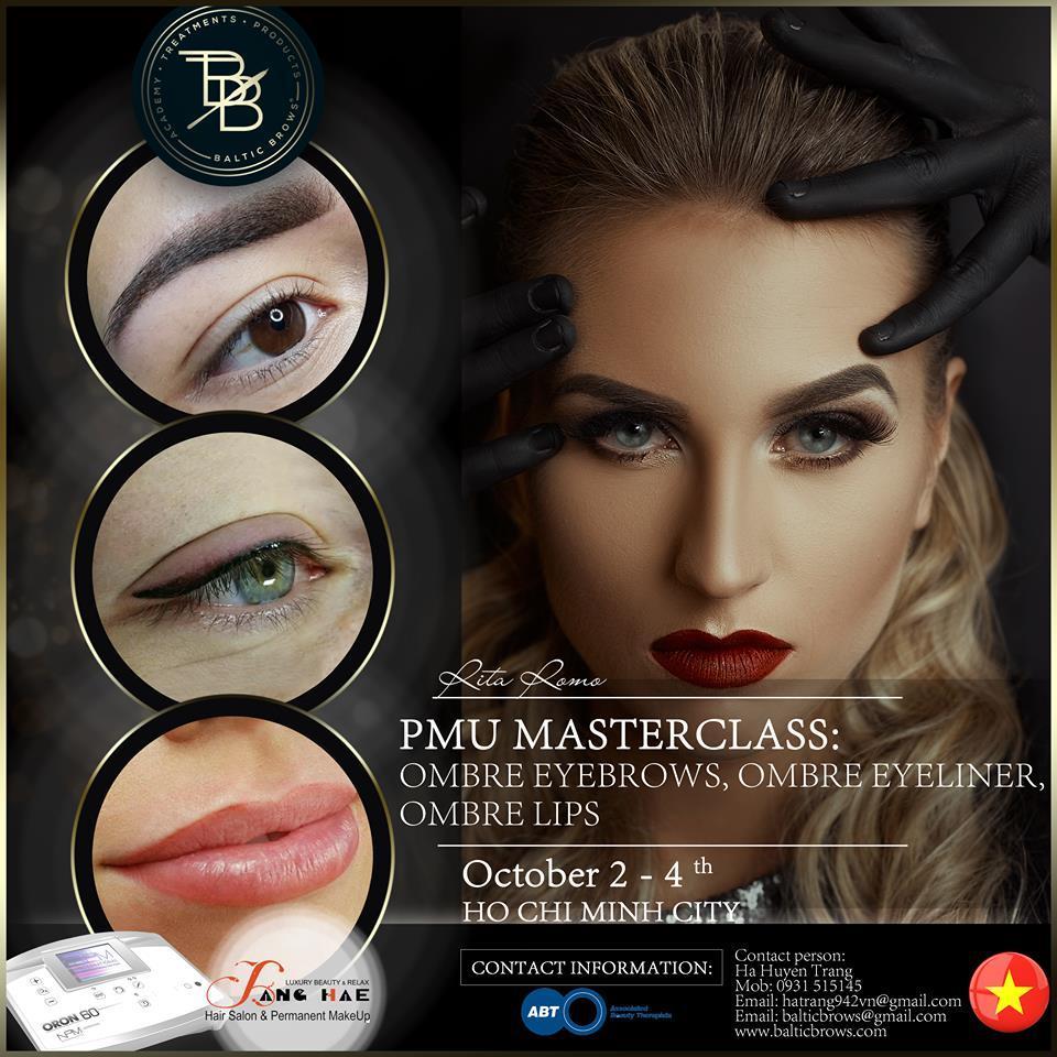 Permanent makeup masterclass