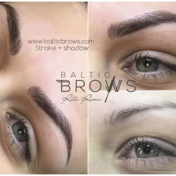 Microblading+shading combo